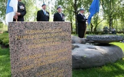 Kansainvälisen YK:n rauhanturvaajien päivän seppeleenlasku Hietaniemessä 28.5.